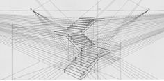 Architecture Sketches & Drawings — Beautiful example of a perspective drawing.