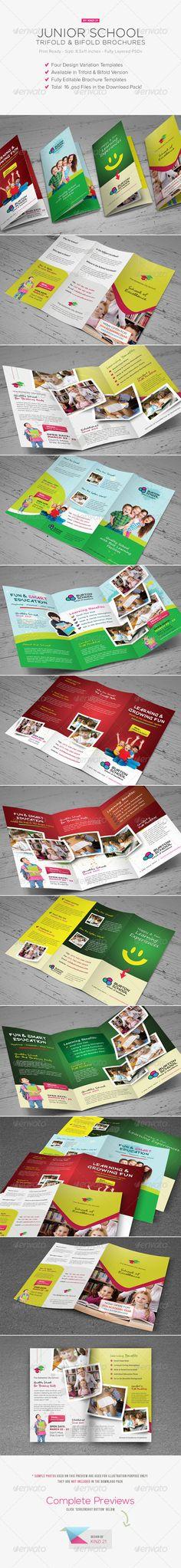 Junior School Trifold & Bifold Brochures