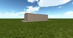 Cool 3D #marketing http://ift.tt/2nZxHp5 #barn #workshop #greenhouse #garage #roofing #DIY