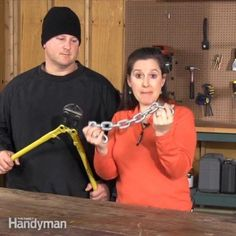 The Family Handyman editor, Elisa Bernick, shares some tips to help you lock your stuff up and foil would-be thieves.