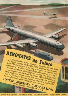 Brazilian advertising from PanAm (1955)
