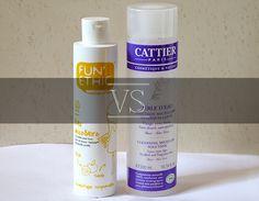 Test : eau micellaire Fun'Ethic vs Cattier  Lire l'article : http://melleambroise.com/eau-micellaire-funethic-vs-cattier/
