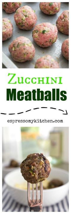 These Zucchini Meatballs are tender, moist, and loaded with bursting flavors that will make you come for seconds