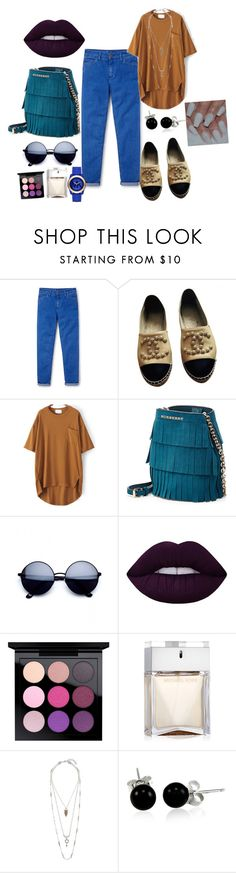 """""""Untitled #91"""" by roxana27 ❤ liked on Polyvore featuring Boden, Chanel, Burberry, Lime Crime, MAC Cosmetics, Lucky Brand, Bling Jewelry and Michael Kors"""