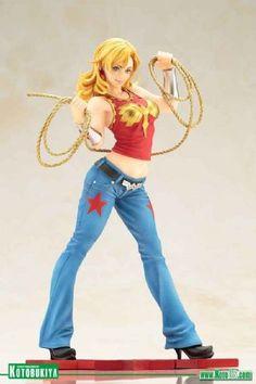 DC COMICS WONDER GIRL BISHOUJO STATUE BY KOTOBUKIYA