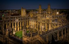 All Souls College, Oxford by John Wright on 500px