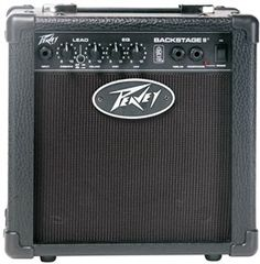The Peavey Backstage is a guitar amplifier with switchable TransTube® sound.