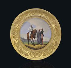 BY THE IMPERIAL PORCELAIN FACTORY, ST PETERSBURG, PERIOD OF NICHOLAS I, 1829
