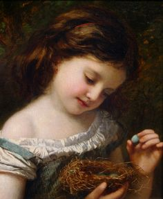 The Delicate Touch - Sophie Gengembre Anderson