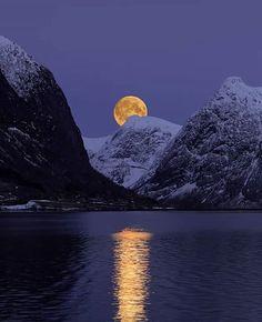 Moonrise Norway ... by Rune Askeland on 500px