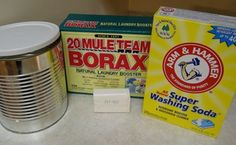 Homemade Laundry Detergent Powder Recipe Like Ivory Snow and Dreft Soap