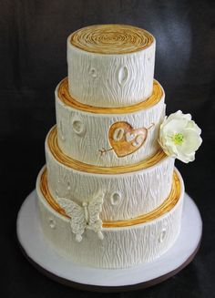 Rustic Cake: