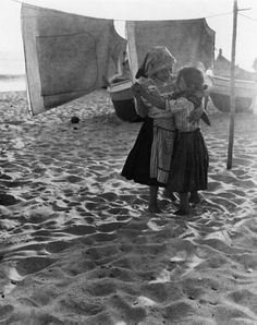Childhood Friends, Portugal , 1954
