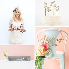 Host and Toast Shop on Etsy | See more wedding inspiration on www.onefabday.com