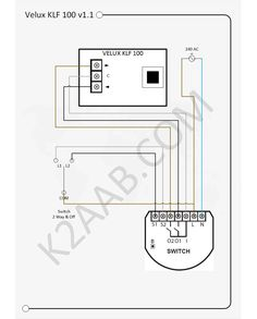 Velux Aov Wiring Diagram - Wiring Diagram on