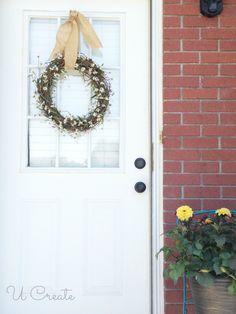 Summer Wreath Tutorial - Easy!