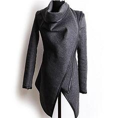 casuais irregulares jaquetas femininas mais-maneiras-a-vestir de 2015 por R$45,68
