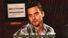 23 Moments When Nick Miller Is Ridiculously Relatable. I love Nick Miller and I'm not afraid to show it! I will look at this many a time and it will make me smile. Nick Miller Quotes, Nick And Jess, Nick New Girl, New Girl Quotes, Jake Johnson, Jessica Day, Comedy Central, The Life, Weird