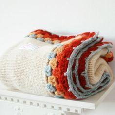 Crochet blanked edgings
