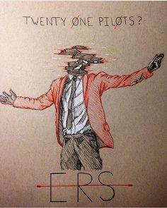 Clique Art|-/ Twenty One Pilots Tyler Joseph