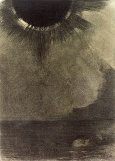 Drowned Man by Odilon Redon