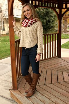 New! Natural Beauty Knit Sweater