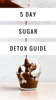 Sugar Free Detox, Sugar Detox Diet, Natural Detox Drinks, Sugar Intake, Vegan Sugar, Ate Too Much, Keto For Beginners, Sugar Cravings, Detox Recipes