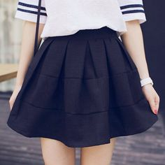 Black skirts are cute!!