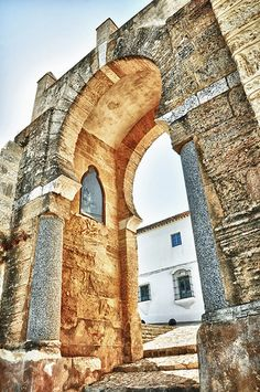 Arco de la Pastora o Puerta de la Salada (siglo X)  Medina Sidonia  Cádiz  Spain