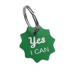 Schlüsselanhänger – Yes I Can