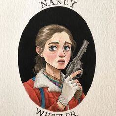 [New] The 10 Best Art Ideas Today (with Pictures) - Nancy! (The drawing I was painting during yesterdays live with my sis @thetravelingsketchbook ) #strangerthings #strangerthingsfanart #fanart #strangerportraits #artwork #art #portrait #nancywheeler #drawing #painting #illustration #gouache #watercolor #theimaginativeillustrator Nancy Stranger Things, Stranger Things Characters, Stranger Things Have Happened, Stranger Things Season, Stranger Things Netflix, Cool Art, Sketches, Fan Art, Drawings