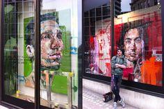 Harvey Nichols windows by Andrew Salgado