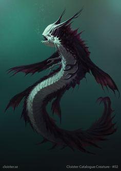 Mon'thoris - Creature Concept by Cloister.deviantart.com on @DeviantArt