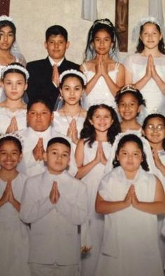Here's a photo of Selena Gomez when she was a little girl.