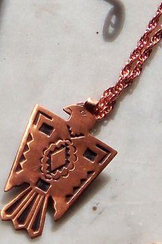 Vintage solid copper Thunderbird hallmarked Bell by AVINTAGEVAULT, $30.00