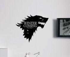 Grande gioco di troni Stark House inverno è di BoultonsGraphics
