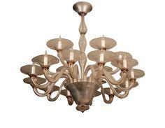 Murano glass chandelier- for dining room or foyer
