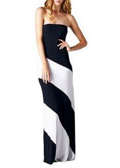 Elegant off the Shoulder Open Back Maxi Dress | Rosewe.com