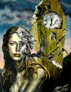 Clock Hourglass Time:  #Clock, Jorge Ignacio Nazabal.