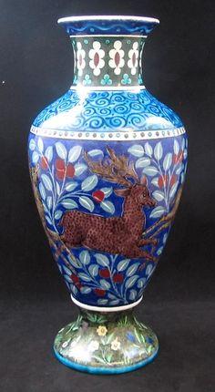 William De Morgan Vase by WILLIAM DE MORGAN : The British Antique Dealers' Association