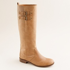 Why am I not wearing these fabulous J. Crew boots? The perfect not-quite-cognac shade and just a bit of buckle!