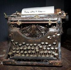 Underwood Typewriter: Once upon a time Abandoned Houses, Abandoned Places, The Magic Faraway Tree, Antique Typewriter, Ex Machina, Vintage Typewriters, Vintage Cameras, Retro Radios, Once Upon A Time