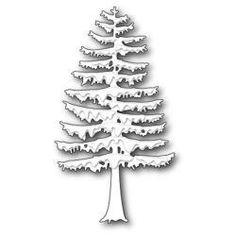 MBP1548 Memory Box Poppystamp Die Grand Pine Tree