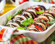 Tian de tomates et cougettes au thym