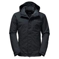 235fa8924b0 Jack Wolfskin Men s Northern Edge Insulated Waterproof Jacket - Black