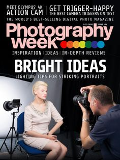 #Photography week 192. Bright ideas! Lighting tips for striking #portraits.