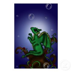 dragon with bubbles poster Fantasy Comics, Magical Creatures, Wedding Programs, Animal Pictures, Comic Art, Create Your Own, Bubbles, Dragon, Cool Stuff
