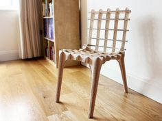 The Sketch Chair: You design a chair based on your proportions, it is milled in compressed particle board, and then sent to you flat for construction. Wicked cool.