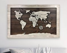 180 Best Wooden World Maps Images Timber Walls Wood Walls Wooden Map