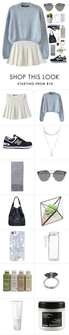 """""""Untitled #562"""" by amy-lopezx ❤ liked on Polyvore featuring Ter Et Bantine, New Balance, Wet Seal, Topshop, christopher. kon, Karen Kane, Chantecaille, Davines, women's clothing and women"""